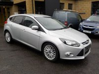 USED 2012 62 FORD FOCUS 1.6 ZETEC TDCI 5d 113 BHP Appearance pack - Focus; Rear Park assist;