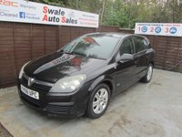 USED 2006 56 VAUXHALL ASTRA 1.6 ACTIVE 16V TWINPORT 5d 100 BHP FINANCE AVAILABLE FROM £16 PER WEEK OVER TWO YEARS - SEE FINANCE LINK FOR DETAILS