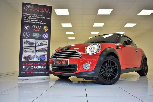 2015 15 MINI COUPE 1.6 COOPER