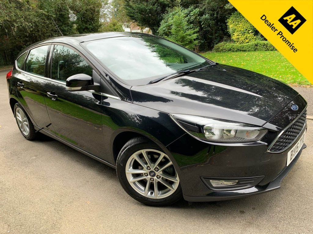 USED 2015 15 FORD FOCUS 1.5 ZETEC TDCI 5d 118 BHP ONLY 1 OWNER FROM NEW, F.S.H
