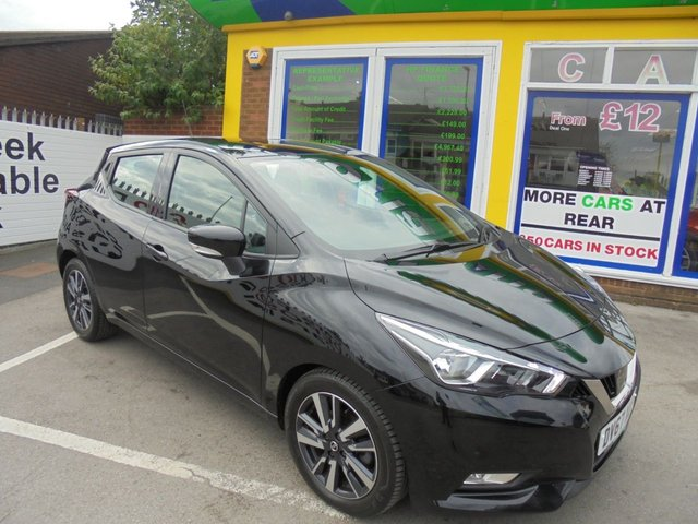 USED 2017 67 NISSAN MICRA 0.9 IG-T ACENTA 5d 89 BHP **1 OWNER AND FULL SERVICE HISTORY*