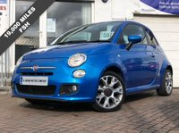 USED 2015 15 FIAT 500 1.2 S 3d 69 BHP SUPPLIED WITH 12 MONTHS MOT - EXCELLENT CONDITION INSIDE AND OUT