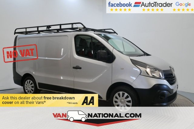USED 2017 17 RENAULT TRAFIC 1.6 SL27 BUSINESS DCI 120 BHP SWB (NO VAT NO VAT NO VAT NO VAT) * NO VAT * EURO 6 * ZERO DEPOSIT FINANCE AVAILABLE *