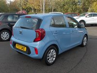 USED 2017 17 KIA PICANTO 1.0 2 5d 66 BHP BALANCE OF MANUFACTURERS SEVEN YEAR WARRANTY