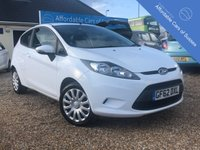 2012 FORD FIESTA 1.2 EDGE 3d £4695.00