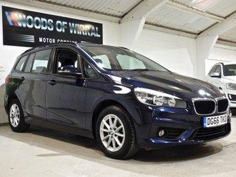 2016 BMW 2 SERIES 1.5 216D SE GRAN TOURER 5d 114 BHP £8980.00