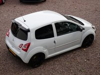 USED 2013 13 RENAULT TWINGO 1.6 RENAULTSPORT 3d 133 BHP FSH, 2 OWNERS FROM NEW, BEST COLOUR COMBO - WHITE WITH BLACK STYLING, BLUETOOTH, AIR CON