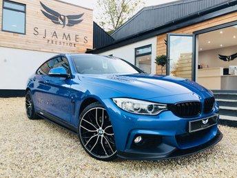 2016 BMW 4 SERIES 3.0 430D M SPORT GRAN COUPE 4d 255 BHP £23490.00