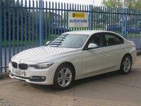 USED 2014 64 BMW 3 SERIES 1.6 316I SPORT 4dr Sat nav Bluetooth & audio Park sensors Finance arranged Part exchange available Open 7 days