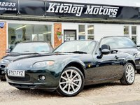 USED 2008 57 MAZDA MX-5 2.0 SPORT ROADSTER COUPE, HIGHLAND GREEN