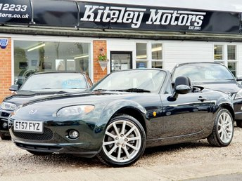 2008 MAZDA MX-5 2.0 SPORT ROADSTER COUPE, HIGHLAND GREEN £SOLD