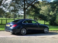 USED 2015 15 MERCEDES-BENZ C CLASS 2.1 C250 BLUETEC AMG LINE PREMIUM PLUS 4d AUTO 204 BHP A Refined Executive Saloon with a Host of Luxurious Features and Sweeping Curves to the Super Cool New Style Interior. Presented in Cavansite Blue Metallic / Black Leather Heated Electric Memory Seats, Panoramic Sliding Glass Sunroof, Command Satellite Navigation + Burmeister Premium Sound, Bluetooth Connectivity + DAB Radio, Front and Rear Park Distance Control + Reverse Camera + Active Park Assist, Automatic Dynamic LED Headlights + Power Wash, 19 Inch AMG Multi spoke Alloy Wheels, Sports Susp