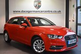"""USED 2015 15 AUDI A3 2.0 TDI SE 5DR AUTO 148 BHP full service history Finished in a stunning red styled with 16"""" alloys. Upon opening the drivers door you are presented with cloth upholstery, full service history, bluetooth, dab radio, £30 road tax, heated mirrors, auxilary port, air conditioning, auto stop/start function"""