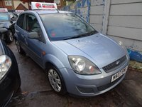 2007 FORD FIESTA 1.2 STYLE CLIMATE 16V 3d 78 BHP £990.00