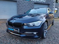 USED 2014 14 BMW 3 SERIES 2.0 320D LUXURY 4d AUTO 184 BHP