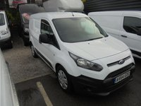 USED 2014 64 FORD TRANSIT CONNECT SHORT WHEEL BASE 1.6 TDCI  200 PANEL VAN, ONE OWNER FROM NEW WITH FULL SERVICE HISTORY ££ FINANCE AVAILABLE £££ FORD TRANSIT CONNECT S,W,B