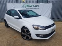 USED 2011 11 VOLKSWAGEN POLO 1.2 MATCH 3d 59 BHP