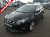 USED 2013 13 FORD FOCUS 1.0 ZETEC S S/S 5d 124 BHP NO DEPOSIT AVAILABLE, DRIVE AWAY TODAY!!