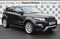 USED 2011 61 LAND ROVER RANGE ROVER EVOQUE 2.2 SD4 DYNAMIC 5d AUTO 190 BHP ONLY 12900 MILES
