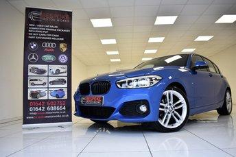 2016 BMW 1 SERIES 118D 2.0 M SPORT 5 DOOR £12995.00