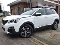 USED 2017 17 PEUGEOT 3008 1.6 BLUEHDI S/S ALLURE 5d 120 BHP FULL MAIN DEALER SERVICE HISTORY...SUPER VALUE & SPECIFICATION