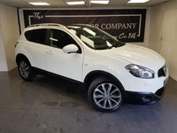 USED 2012 12 NISSAN QASHQAI 1.6 TEKNA IS DCIS/S 5d + HISTORY + 2 FORMER KEEPERS