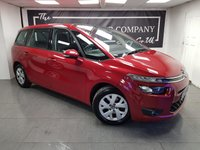 USED 2014 14 CITROEN C4 GRAND PICASSO 1.6 E-HDI AIRDREAM VTR PLUS ETG6 5d AUTO + 7 SEATS