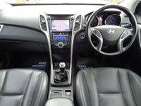 USED 2015 65 HYUNDAI I30 1.6 CRDi Blue Drive Premium 5dr Nav, RearCam, Heated Leather