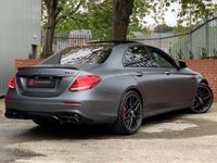 USED 2017 67 MERCEDES-BENZ E CLASS 4.0 E63 V8 BiTurbo AMG S Edition 1 SpdS MCT 4MATIC+ (s/s) 4dr FMBSH - HUD - LANE ASSIST