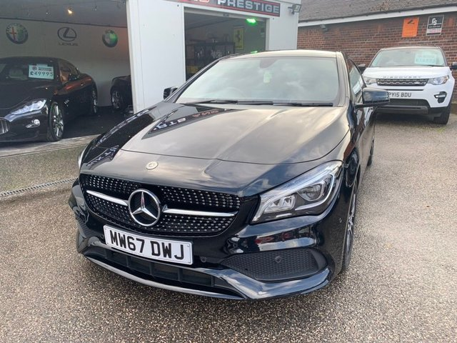 MERCEDES-BENZ CLA at Euxton Sports and Prestige