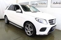USED 2016 16 MERCEDES-BENZ GLE-CLASS 2.1 GLE250d AMG Line (Premium) G-Tronic 4MATIC (s/s) 5dr PAN ROOF! 1 LADY OWNER! EURO 6
