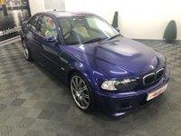 USED 2006 06 BMW M3 3.2 M3 2d 338 BHP INDIVIDUAL VELVET BLUE 6 MONTHS WARRANTY