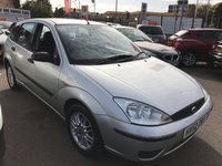 USED 2002 52 FORD FOCUS 1.6