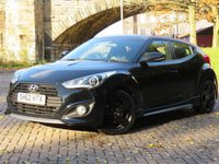 USED 2012 62 HYUNDAI VELOSTER 1.6 T-GDI SE 4d 184 BHP
