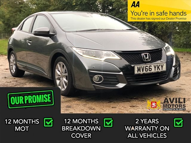 USED 2016 66 HONDA CIVIC 1.6 I-DTEC SE PLUS NAVI 5d 118 BHP