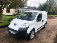 USED 2013 63 PEUGEOT BIPPER 1.2 HDI SE 75 BHP NO VAT !!!   Outstanding condition inside and out.  Rear parking sensors