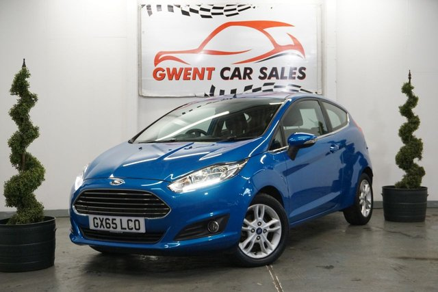 USED 2015 65 FORD FIESTA 1.5 ZETEC TDCI 3d 74 BHP GREAT COLOUR EAXMPLE