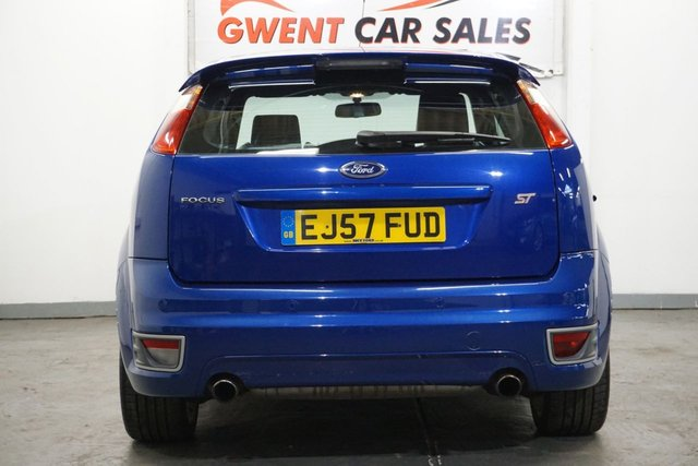 USED 2007 57 FORD FOCUS 2.5 ST-3 3d 225 BHP GREAT SPEC , FULL LEATHER, SAT NAV