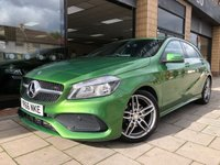 USED 2016 66 MERCEDES-BENZ A CLASS 1.6 A 180 AMG LINE 5d 121 BHP