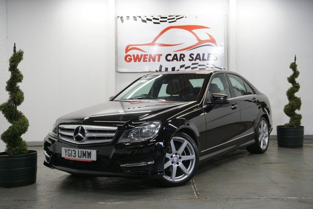 USED 2013 13 MERCEDES-BENZ C CLASS 2.1 C220 CDI BLUEEFFICIENCY AMG SPORT 4d 168 BHP GREAT EXAMPLE, LONG MOT, HPI CLEAR