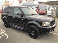USED 2009 09 LAND ROVER RANGE ROVER SPORT 2.7 TDV6 SPORT HSE 5d AUTO 188 BHP Black stunning looking Range Rover, Diesel, Automatic, black leather,