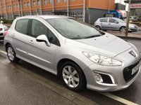 USED 2013 13 PEUGEOT 308 1.6 HDI ACTIVE NAVIGATION VERSION 5d 92 BHP Diesel, 52000 miles, low road tax, economical, sat/nav, superb, great value.