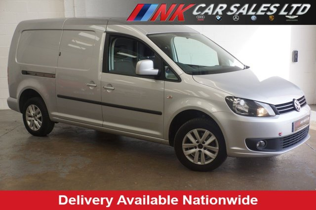 2015 15 VOLKSWAGEN CADDY MAXI 1.6 C20 TDI HIGHLINE BMT 101 BHP SAT NAV+ CRUISE SOLD TO CHRIS FROM DONCASTER