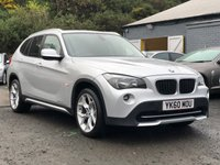 USED 2010 60 BMW X1 2.0 XDRIVE20D SE 5d 174 BHP FULL LEATHER +   PANORAMIC ROOF *  PRIVACY GLASS *   18 INCH ALLOYS *  PARKING AID * MOT MAY 2020