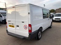 USED 2012 62 FORD TRANSIT 2.2 280 SWB DOUBLE CAB 100 BHP LOW MILES