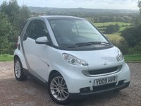 2009 SMART FORTWO 1.0 PASSION MHD 2d AUTO 71 BHP £2285.00