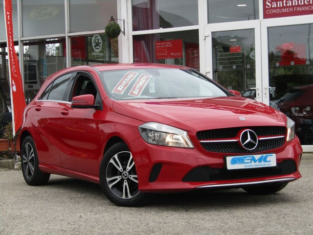 2017 67 MERCEDES-BENZ A CLASS 1.5 A 180 D SE EXECUTIVE 5d AUTO 107 BHP