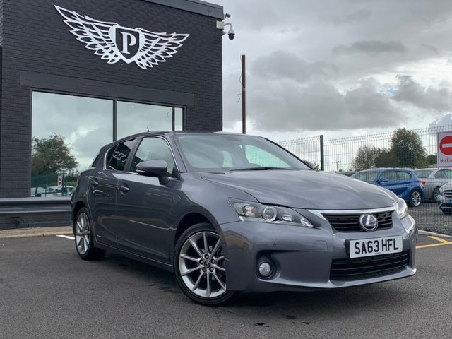 USED 2013 63 LEXUS CT 1.8 200H ADVANCE 5d AUTO 136 BHP AA WARRANTY,  MOT AND SERVICE INCLUDED