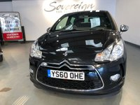 USED 2011 60 CITROEN DS3 1.6 HDI BLACK AND WHITE 3d 90 BHP