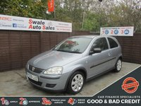USED 2006 06 VAUXHALL CORSA 1.2 SXI PLUS 16V TWINPORT 3d 80 BHP FINANCE AVAILABLE FROM £16 PER WEEK OVER TWO YEARS - SEE FINANCE LINK FOR DETAILS